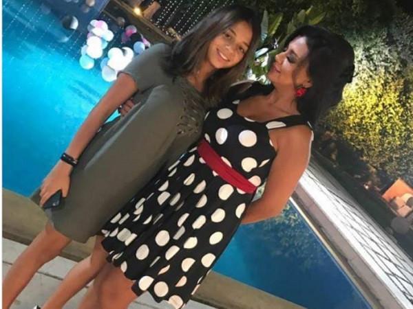 رانيا يوسف وابنتيها