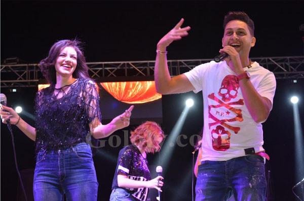 كاريكا و امينة و سبايسي ميكس يشعلون شم النسيم بالقاهرة الجديدة
