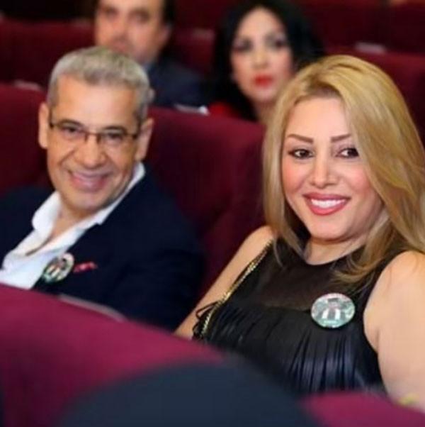 مصطفى الاغا وزوجته واولاده
