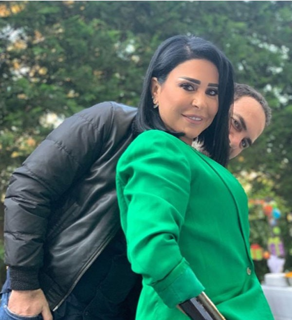 وائل جسار وزوجته وابنه