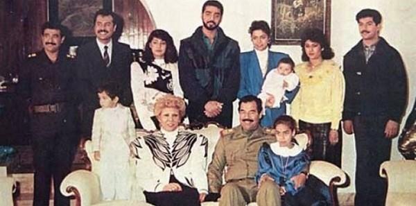 صدام حسين - ساجدة خير الله