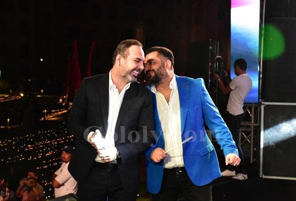 وائل جسار و محمد عدوية يشعلان خيمة ستون ريزيدنس بحضور نجوم الفن والمشاهير