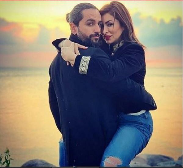 صورة جريئة لديما بياعة مع زوجها تضعها في مرمى الانتقادات شاهد