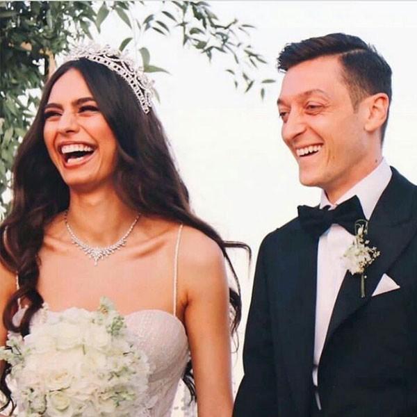 حفل زفاف امينة جولشن ومسعود اوزيل