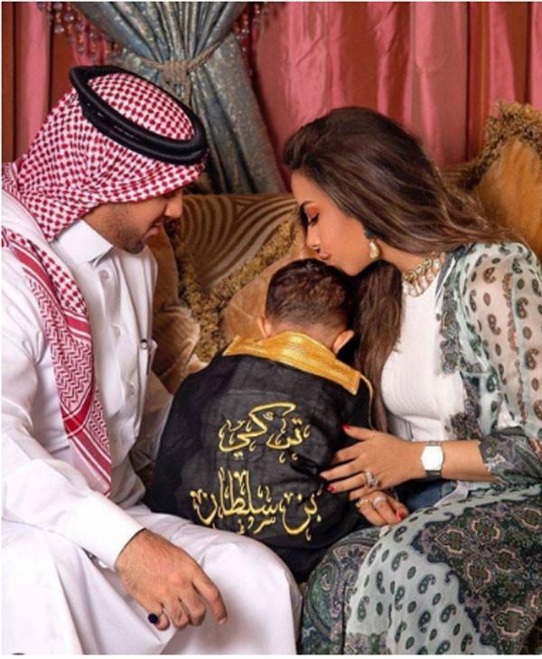 بلقيس وزوجها وابنها