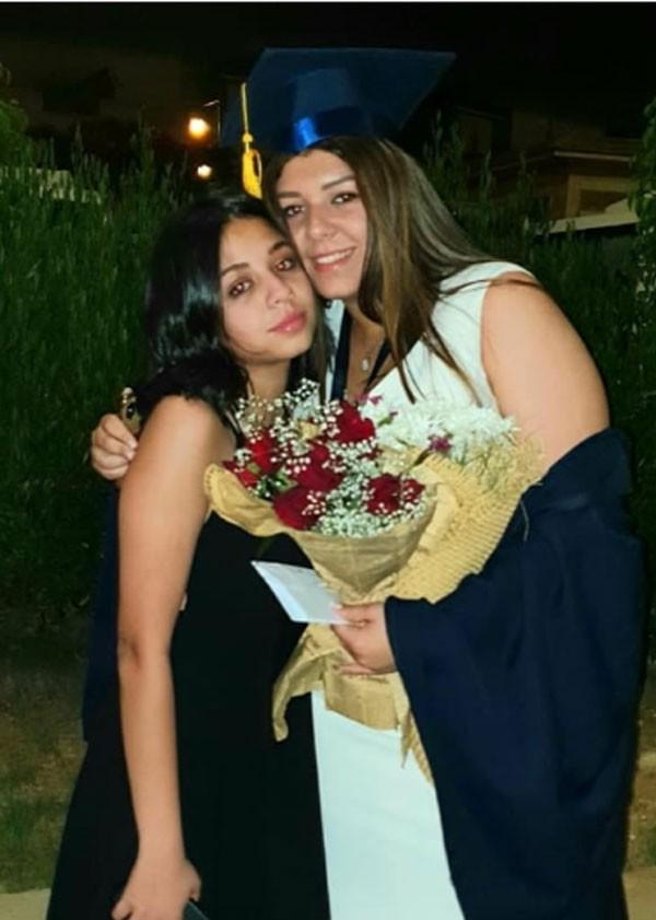 رانيا يوسف وابنتها