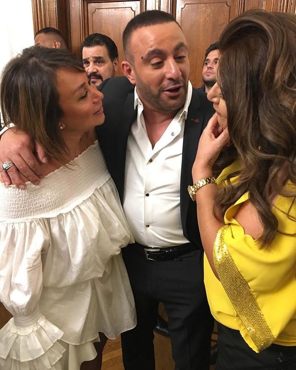 تكريم احمد السقا والنجوم في حفل الوفد