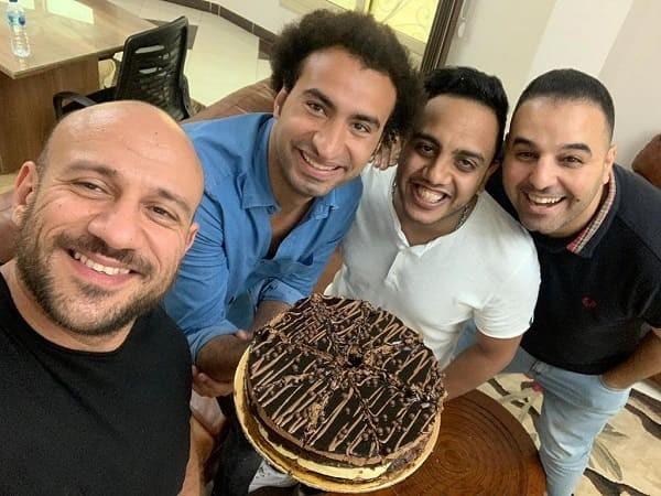 احمد مكي وعلي ربيع واوس اوس