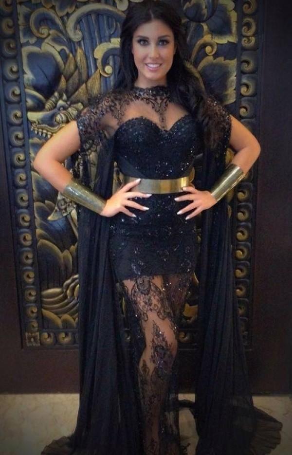 ملكة جمال لبنان كارن غراوي