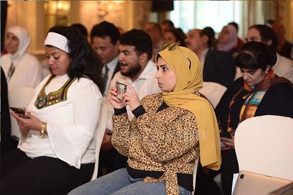 حفل تنصيب النجم اسر ياسين والنجمة نيللي كريم .. كسفراء النوايا الحسنة للمنظمة الدولية للهجرة