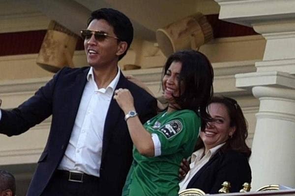 اندريه راجولينا - رئيس مدغشقر