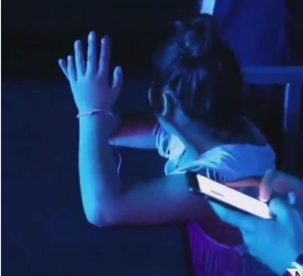 أول ظهور لابنة وائل كفوري