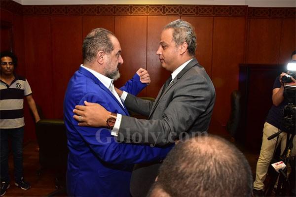 ندوة خالد الصاوي. بعنوان نجم و ندوه في قصر السينما