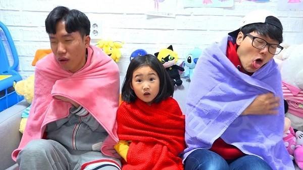 الطفلة الكورية بورام