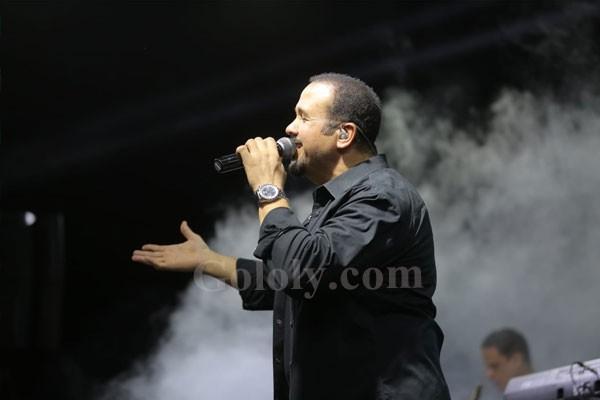 حفل هشام عباس فى بورتو مطروح