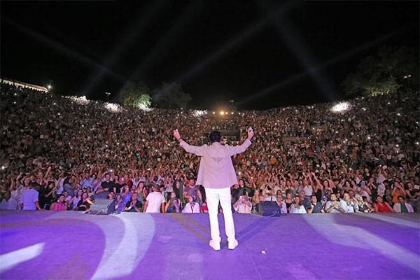 السوبر ستار راغب علامة مهرجان قرطاج الدولي