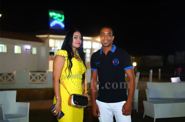 محمد شاهين يحي حفل ضخم بشاطئ الهاموك