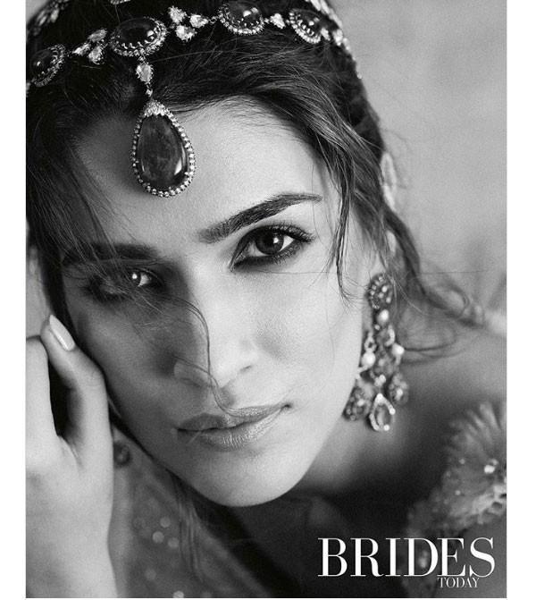 كريتي سانون أجمل عروس على غلاف Brides Today.. صور