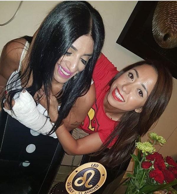 ريم البارودي وشقيقتها