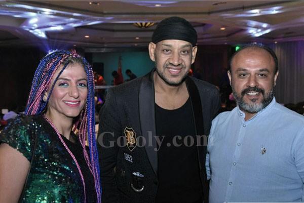 محمود الليثي و دينا و كاريكا و سعد الصغير في حفل كامل العدد بالقاهرة