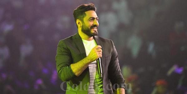 تامر حسني يشعل حفل عمان بحضور كامل العدد