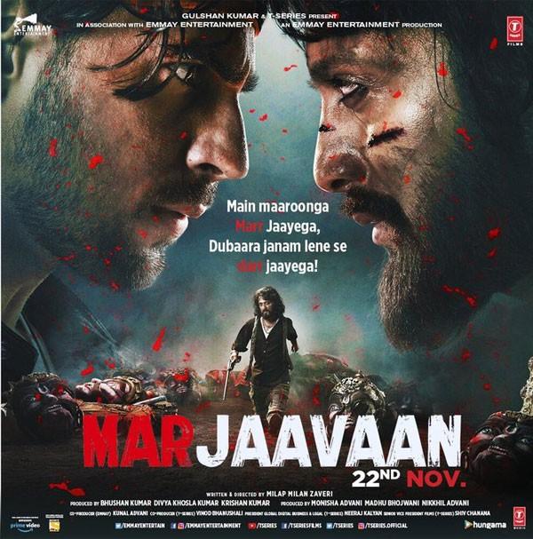 إطلاق البوستر الدعائي الأول للممثل سيدهارث مالهوترا من Marjaavaan