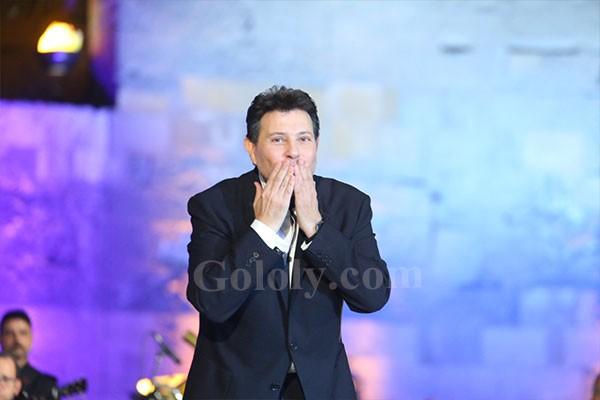 هاني شاكر يحيي حفله في مهرجان القلعه