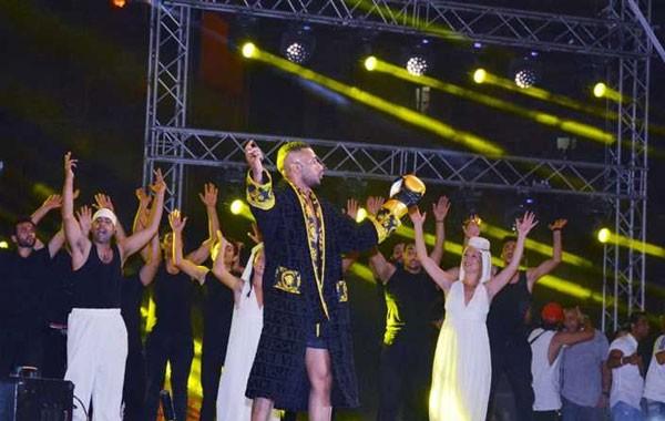 حفل محمد رمضان في الساحل