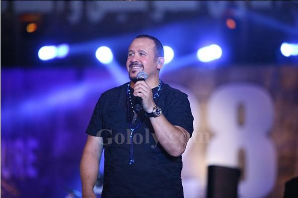 هشام عباس يحيي الليلة الثامنه من مهرجان القلعة