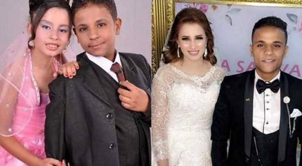 اصغر عروسين في مصر