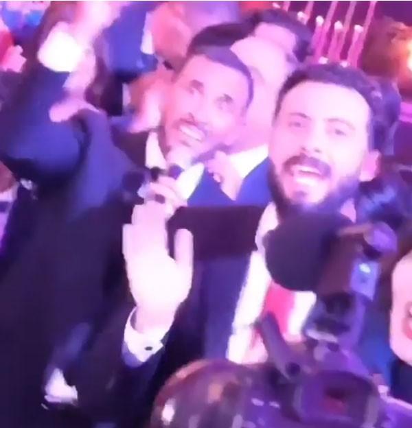 حفل زفاف ابن كاظم الساهر