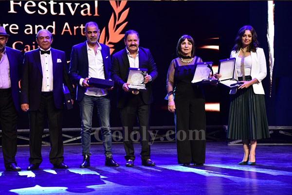 تكريم نجوم الفن في مهرجان همسه للفنون