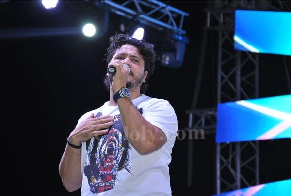 ساندي و مصطفى حجاج و كريم محسن يشعلون حفل نادي حلوان