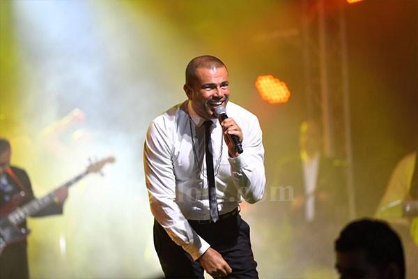 عمرو دياب يشعل حفل جولف بورتو كايرو