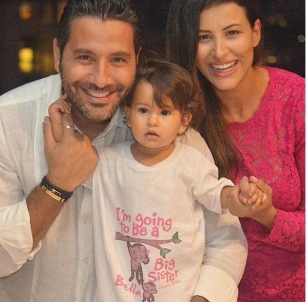 وسام بريدي وريم السعيدي وابنتهما