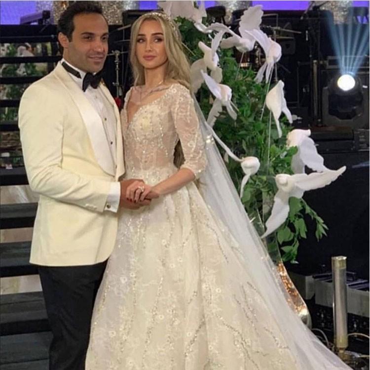 زفاف هنا الزاهد و احمد فهمي