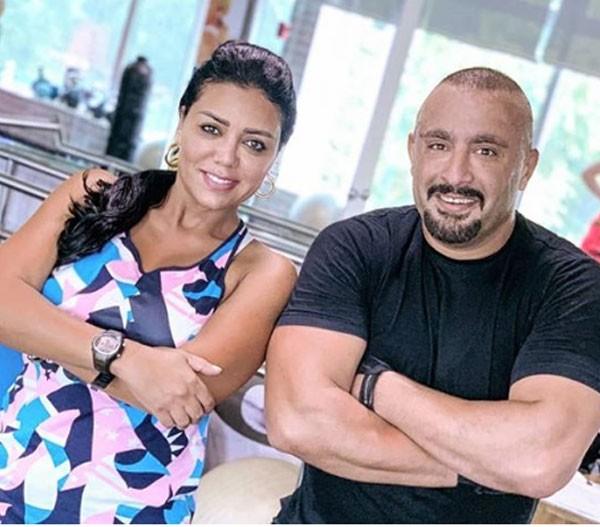 رانيا يوسف و احمد السقا