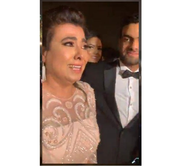 زفاف ابنة نشوى مصطفى
