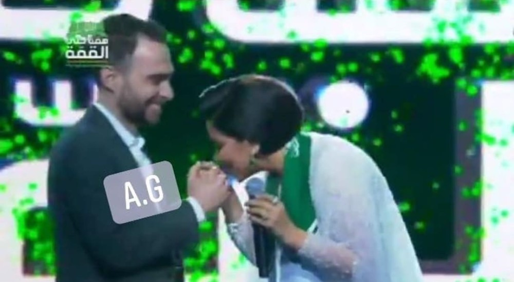 شيرين عبدالوهاب وزوجها