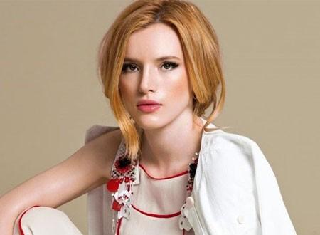 بيلا ثورن ممثلة ومخرجة لفيلم سينمائي في 2020