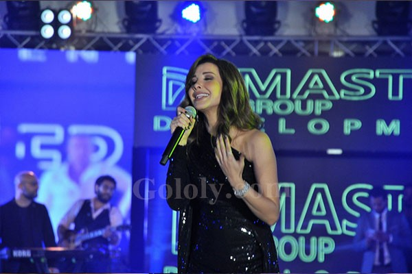 نانسي عجرم و محمود العسيلي يشعلان حفل Ibiza chilout بالتجمع الخامس