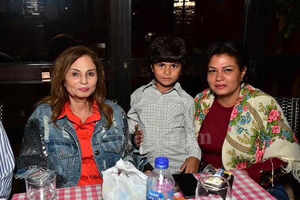 المخرج هاني لاشين يحتفل بعيد ميلاد ابنه بحضور اهل الفن
