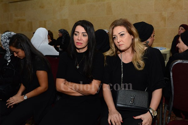 عزاء والدة المخرج محمد النقلي بحضور نجوم الفن