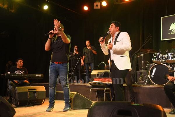 هاني حسن الاسمر يتألق بحفل ساقيه الصاوي