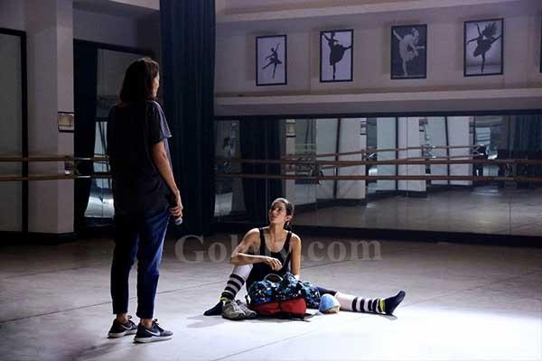 كواليس تصوير حبيبى ياليل لــ ابو و تارا عماد والمخرجة مريم ابو عوف