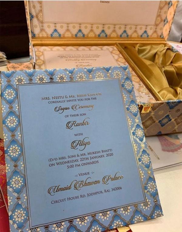 دعوة زفاف مزيفة للنجمين علياء بهات ورانبير كابور تُشعل السوشيال ميديا