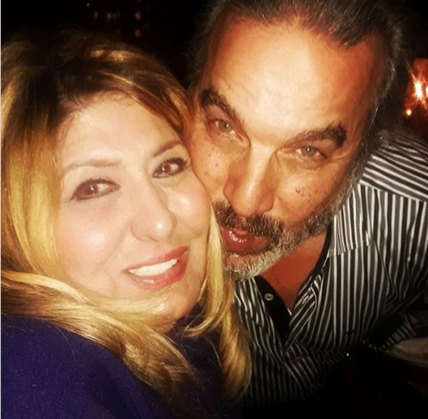 سهير رمزي وزوجها