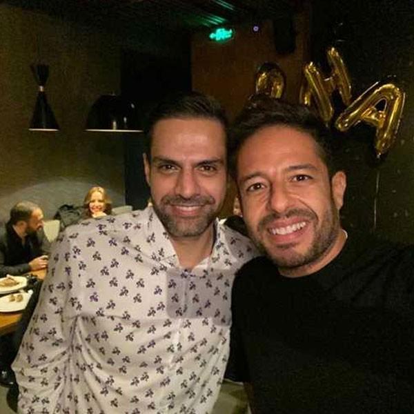 عيد ميلاد محمد حماقي بحضور النجوم