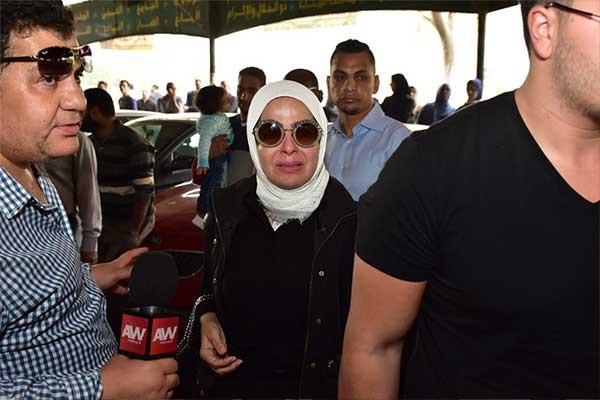 جنازة هيثم احمد زكي