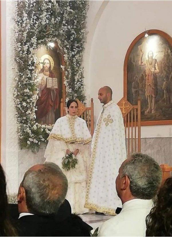زواج ابنة سميح ساويرس